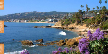 Lovely cove at Laguna Beach